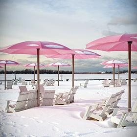 Deposito lettini e ombrelloni per il periodo invernale